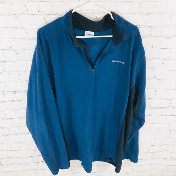 Columbia Other - Columbia Pull Over Lightweight Zip Up Sweater XXL